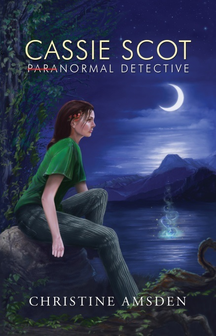 Cassie Scot paranormal detective by Christine Amsden, paranormal mystery, paranormal romance, indie author, mystery, suspense