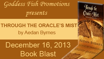 Through the Oracle's Mist by Aedan Byrnes, paranormal romance, reincarnation, literary fiction, woman's fiction, Celtic fiction