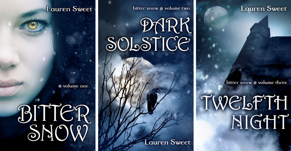 Fairy Tales retold, YA Fantasy, ya paranormal romance, young adult fantasy, young adult paranormal romance, Snow Queen fairy tale retold, Snow Queen, Bitter Snow, Lauren Sweet